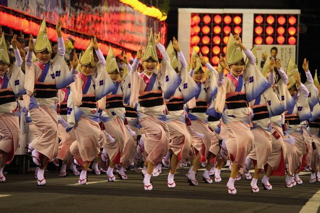 四国徳島県阿波踊り熱気の始まり、歴史など