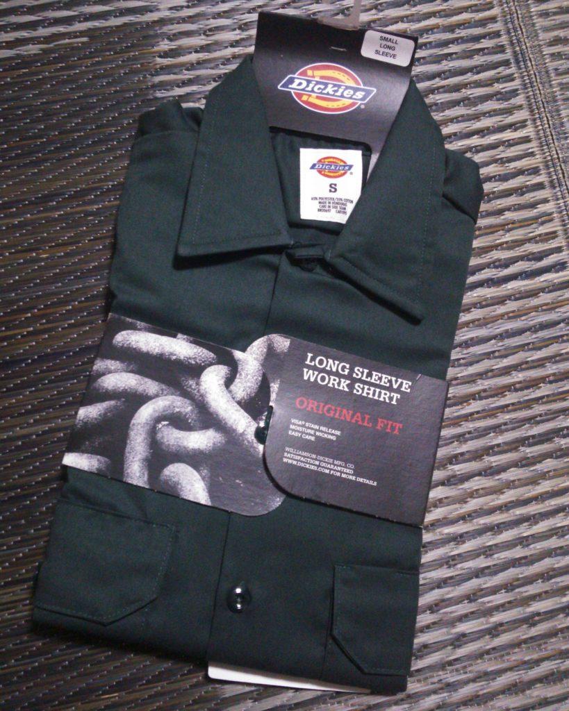 ディッキーズ「574ワークシャツ」購入!商品やサイズ感、購入先を紹介するよー!
