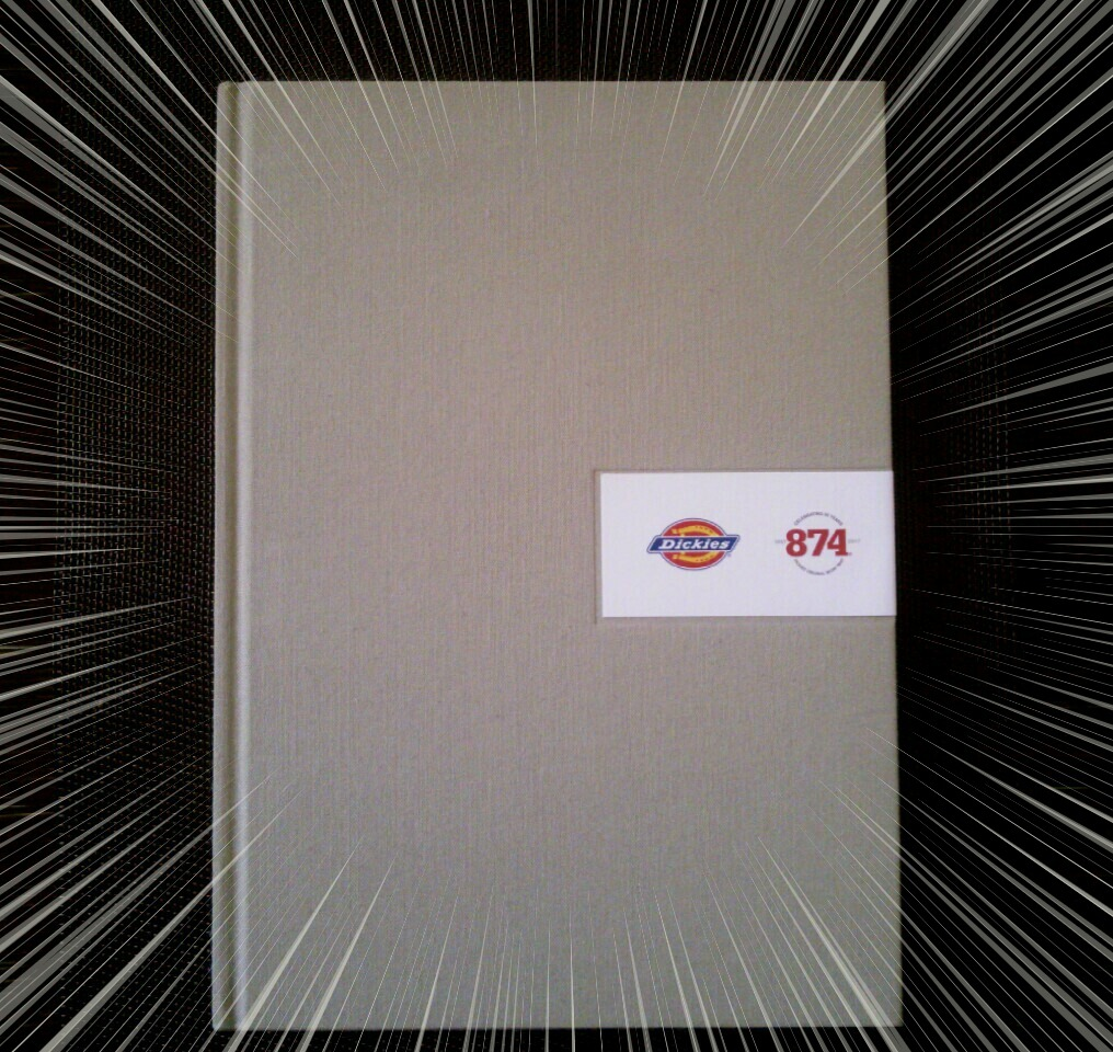 ディッキーズ874ワークパンツ誕生50周年記念フォトブックが届いたので紹介しまっす!