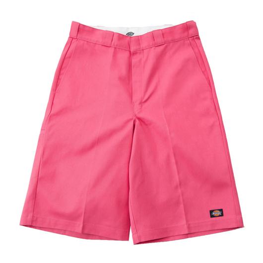 ハーフパンツ ピンク